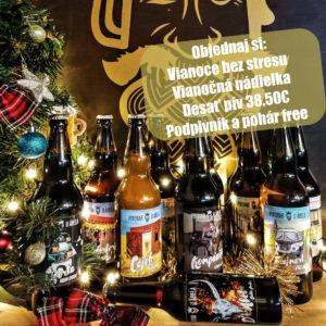 vianočné darčeky, vianoce bez stresu, darček pre muža, remeselné pivo